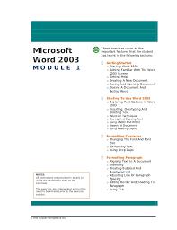 Microsoft Office Exercises Under Fontanacountryinn Com