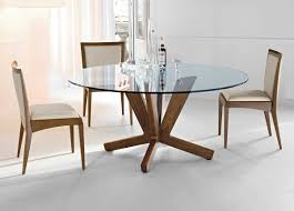Glass Kitchen Table Sets Dining Room Incredible Round Glass Dining Table Set Mesmerizing
