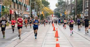Toronto Waterfront Marathon Elevation Chart Toronto Waterfront Marathon Road Closures And Route Info