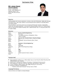 Examples Of Resumes How To Write Best Resume Sample Download A