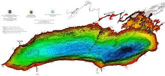 Lake Ontario Chart Bathymetry Of Lake Ontario Ncei