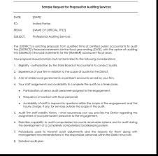 request for proposal templates bookkeeping proposal
