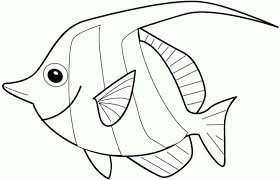 Rainbow Fish Coloring Pages For Kids Printable Coloring Page For Kids