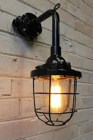 industrial cage lighting. Cage Light Industrial Wall Lighting