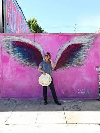melrose ave wall walkabout la s best instagram walls on angel wings wall art los angeles address with melrose ave wall walkabout la s best instagram walls the laura