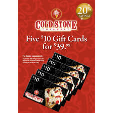cold stone creamery gift card balance