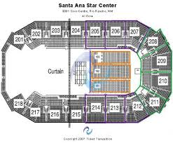Santa Ana Star Center Tickets And Santa Ana Star Center