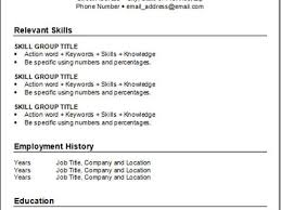 Keywords For Resume Free Resume Example And Writing Download