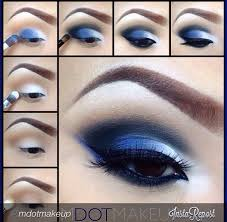 blue and white eye makeup tutorial maquillaje white eyes eye makeup tutorialakeup