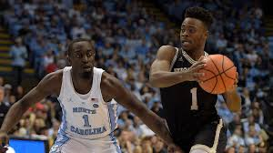 Резултат со слика за No. 4 North Carolina dealt shocking loss at home against Wofford