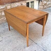 drexel dining room set mid century. mid century drexel profile drop leaf dining set | gorgeous table and room