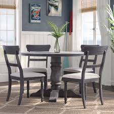 Kitchen table set Square Silverman Piece Dining Set Wayfair Piece Round Kitchen Dining Room Sets Youll Love Wayfair