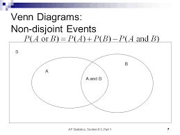 Disjoint Venn Diagram Example Ap Statistics Section 6 3 Part 1 Ppt Video Online Download