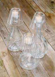 glass bottle tea light shade