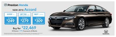 buy lease cars preston honda in new castle pa new used cars
