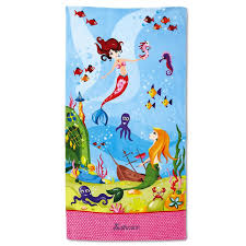 personalized beach chairs. Mermaid Personalized Towel Beach Chairs
