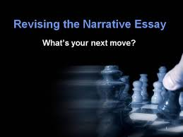 narrative essay how to revise for a stronger narrative authorstream