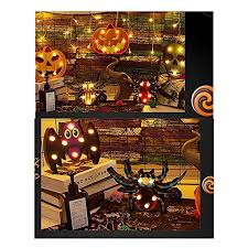 Pumpkin Plastic String Wire Lights Battery Operated Scene Party ...
