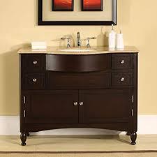 45 inch bathroom vanity por amazon silkroad exclusive single sink with dark regard to 6 t