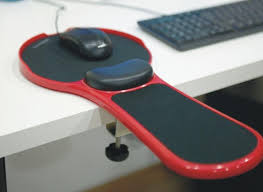 ergonomic mouse elbow support computer mouse pad home office equipment