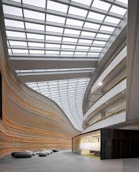 Curved Architecture Architecture Glass Ceiling Design Idea Also Unusual Interior