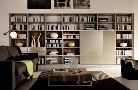 Living Room Bookshelves Decoration Ideas Inspiring Design Interior Ideas With Wall