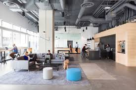 images of office interiors. Bench Accounting Office Interiors / Perkins+Will, © Ema Peter Images Of