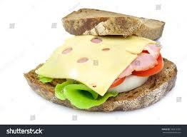 Russian Black Bread Sandwich Stock Photo Edit Now 106013750