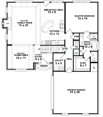 1 story house plans 5 bedroom 1 story house plans best of 1 5 story 3