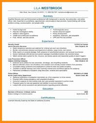 Examples Of Police Resumes 24 Beautiful Photograph Of Police Resume Examples Resume Sample 16