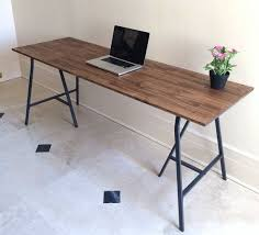 office dining table. large desk handfinished wood and metal table on by goldenrulenyc office dining