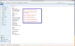 Microsoft Cash Flow Microsoft Dynamics Nav 2013 R2 New Feature Cash Flow Functionality