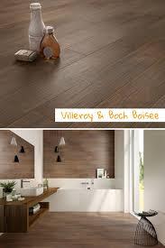 Holzoptik Im Badezimmer Mit Villeroyundboch Boisee