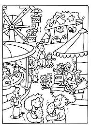 At The Fair Coloring Pages Coloring Pages For Kids Carnival
