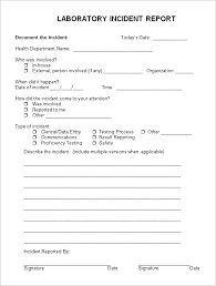 Employee Incident Report Form Hospital Template Patient – Kensee.co