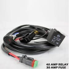 tuff stuff® light wiring harness kit square plug 1 light tuff Off Road Light Wiring Harness tuff stuff single wiring harness off road lights wiring harness