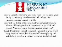 big scholarships big money ppt essay 1 describe the world you come from for example your family