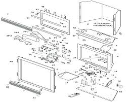 fireplace parts diagram corporation fireplace parts comfort glow vent free compact fireplaces replacement home s electric