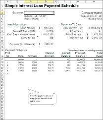 Simple Loan Calculator Excel Gotrekking Club