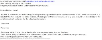 Csulb Email It University Phishing 2015 State Update - Account Knowledgebase 2015-01-13 California