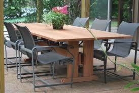 wood patio table beautiful furniture modern wood outdoor dining furniture the edge