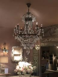 ursala large bronze crystal chandelier