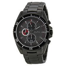 michael kors lansing chronograph grey dial gunmetal ion plated michael kors lansing chronograph grey dial gunmetal ion plated men s watch mk8340