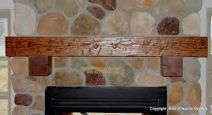 wood fireplace mantels log mantel antique rustic wood