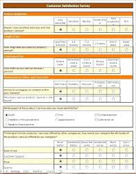 Survey Results Template Questionnaire Excel 2010 Vraccelerator Co