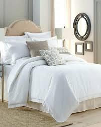 white linen bedding ideas 3 piece white linen blend comforter set comforters bedding bed in sets