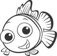 Disegni Da Colorare Alla Ricerca Di Nemo Disegni Dei Personaggi
