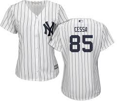 Luis Cessa New York Yankees Home Womens Jersey By Majestic