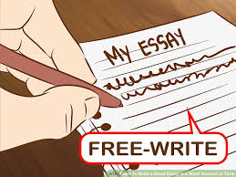 easy ways to write a good essay in a short amount of time image titled write a good essay in a short amount of time step 10