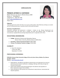 Resume Format Resume Format Examples Sample Resume 22